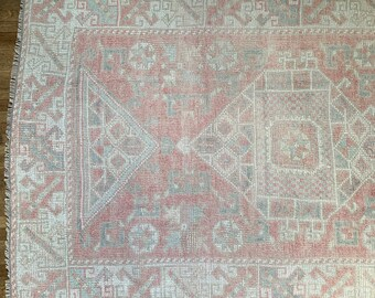 "Vintage Turkish Rug   |  5'9"" x 3'8"" 
