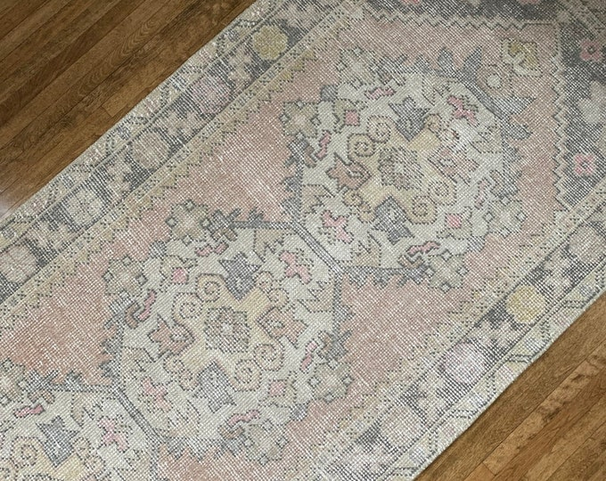 "9' x 3'2"" - Vintage Turkish Runner   