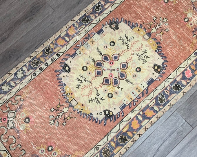 "6'7"" x 3'1"" - Vintage Turkish Runner Rug  