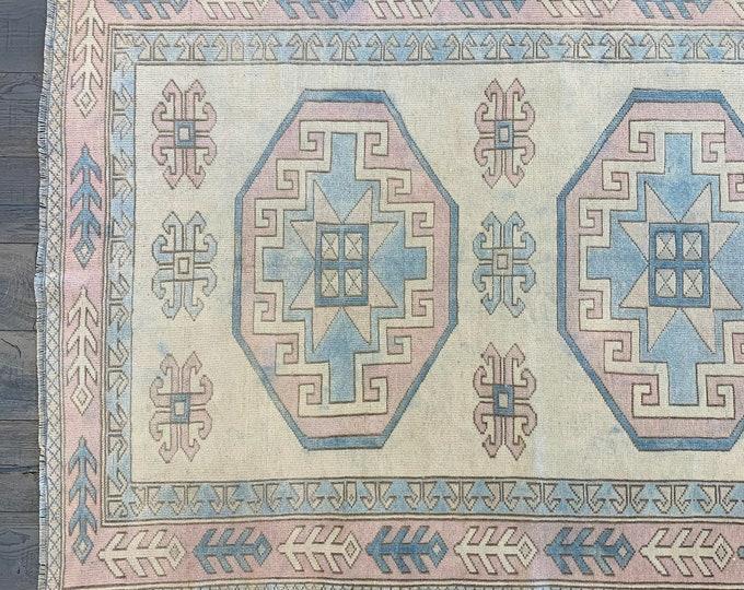 """Vintage Turkish Rug - 6'8"""" x 4'1"""""""""""