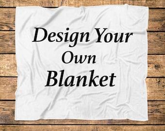 Custom Blanket Etsy