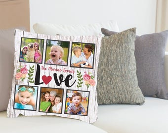 custom photo pillow etsy