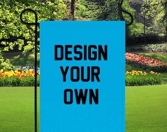 custom garden flag etsy