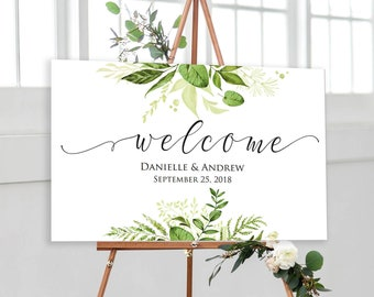 wedding welcome sign template marsala wedding template etsy