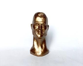 Cristiano Ronaldo small head bust football figurine action figurine Ronaldo funny Ronaldo bronze bust  Ronaldo bust sculpture