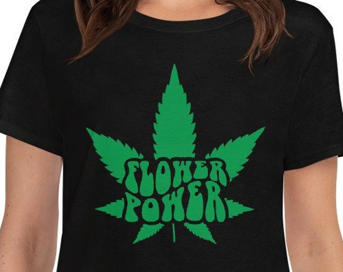 Flower Power - Women's 420 weed t-shirt