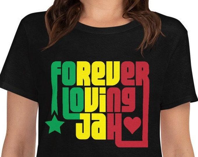 Forever Loving Jah - women's rasta t-shirt