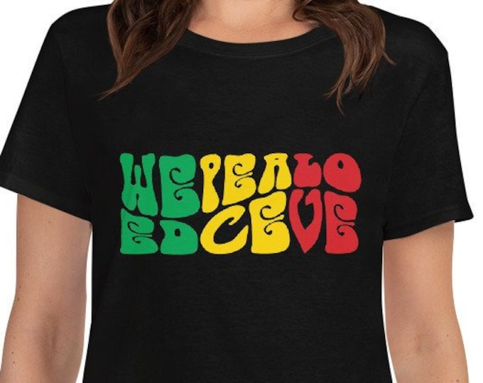 Weed Peace Love - rasta 420 women's t-shirt