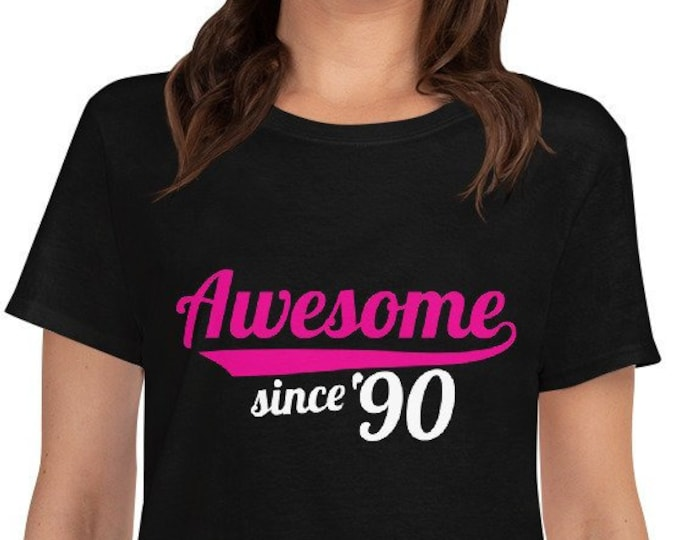 Awesome since 90' - Women's short sleeve t-shirt