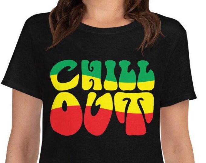 Chill Out - women's rasta t-shirt