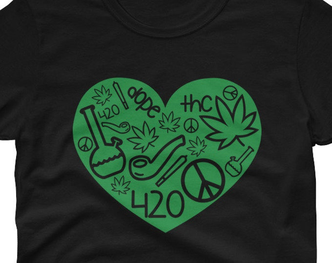 420 Weed Love Women's t-shirt