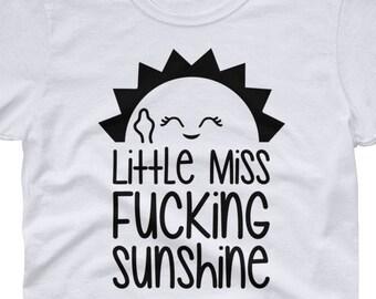 163a3759 Little Miss Fucking Sunshine - women's short sleeve t-shirt