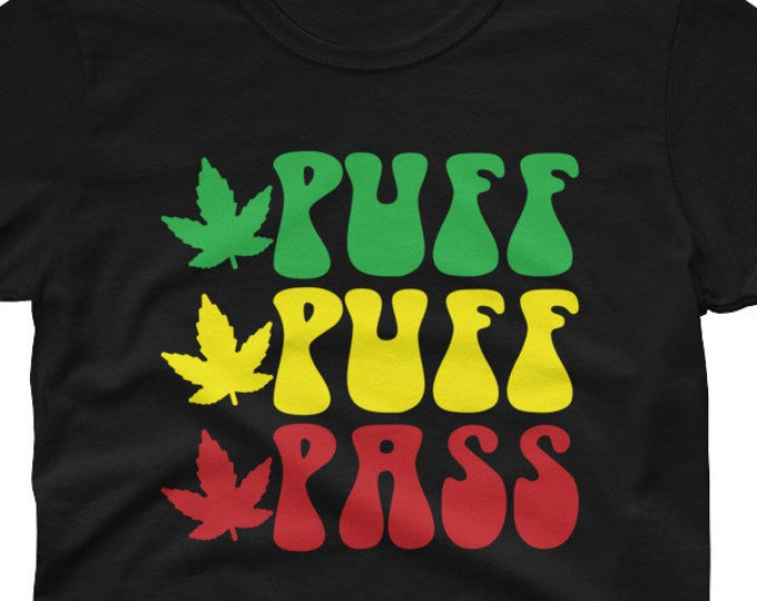 Puff Puff Pass women's t-shirt