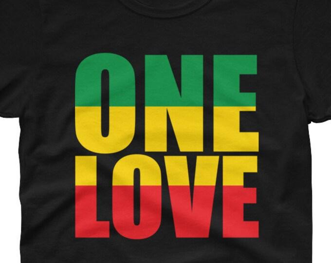 One Love Rasta - women's t-shirt
