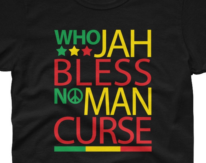 Who Jah Bless Women's rasta t-shirt