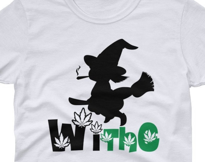 WiThc funny 420 women's t-shirt