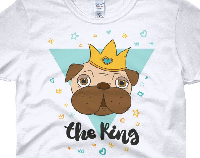 The King Pug women's t-shirt