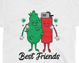 Best Friends 420 Weed t-shirt