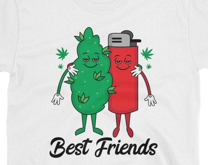 Best Friends 420 Weed t-shirt