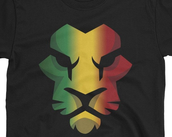 Rasta Lion of Juddah T-Shirt