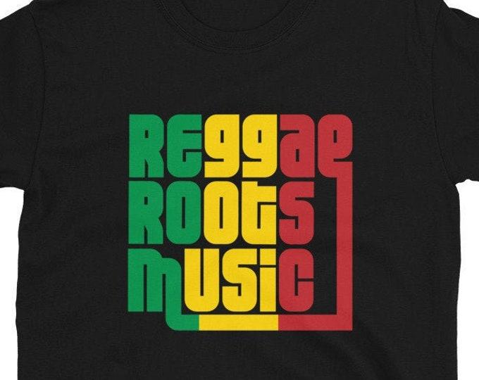 Reggae Roots Music - Rasta Unisex T-Shirt