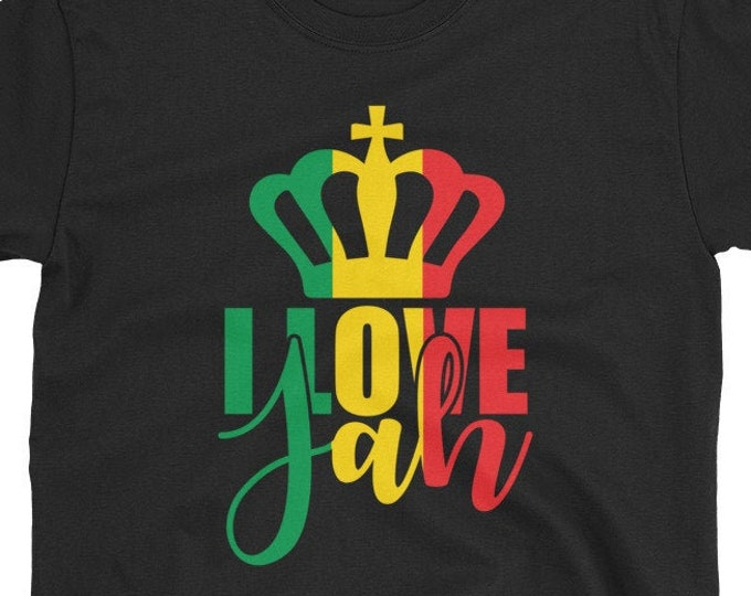I Love Jah - Rasta T-Shirt
