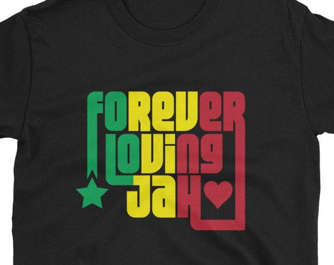 Forever Loving Jah rasta t-shirt