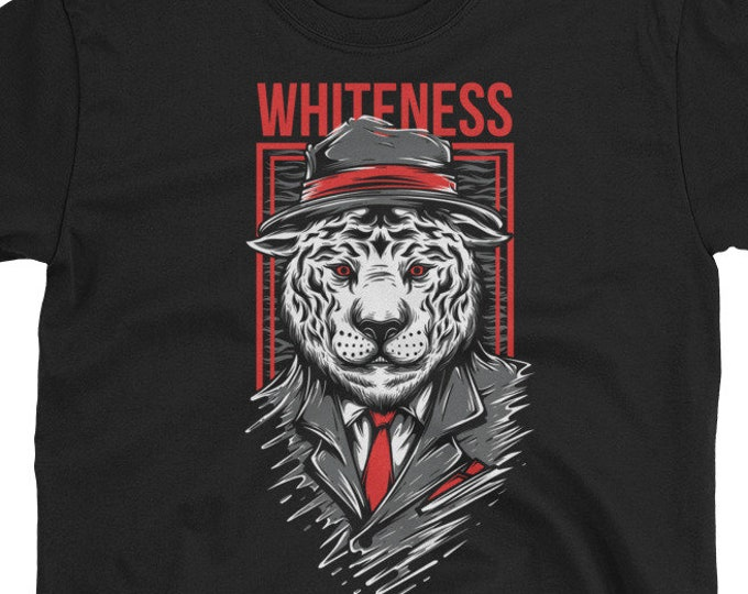 Whiteness Tiger Don t-shirt
