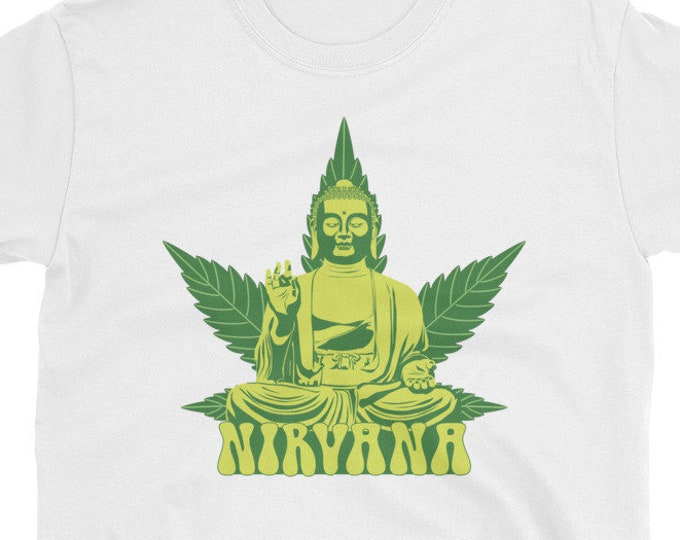 Buddha Nirvana 420 Weed t-shirt