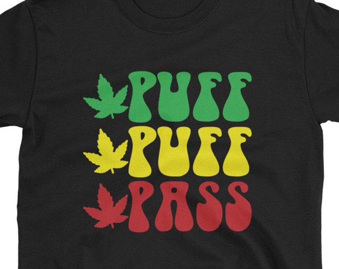 Puff Puff Pass rasta t-shirt