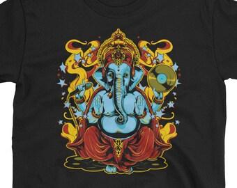 Ganesha Elephant God music t-shirt