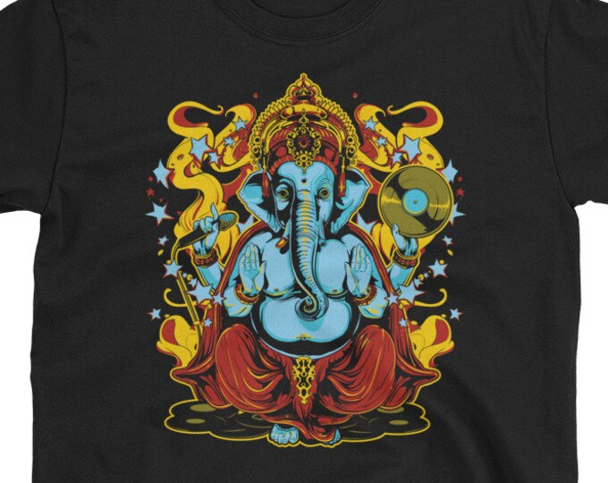 Ganesha Elephant God music t-shirt