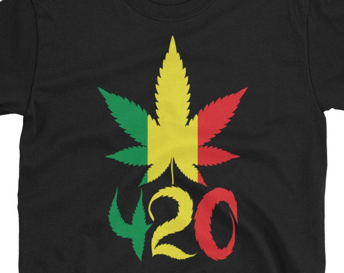 420 Rasta Leaf T-Shirt