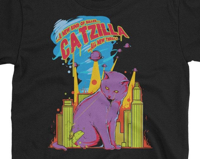 Catzilla Funny Cat t-shirt