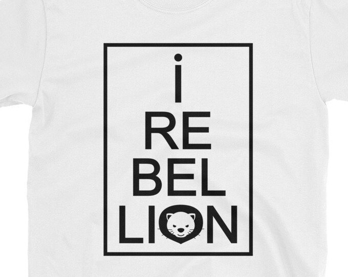I Rebel Lion T-Shirt