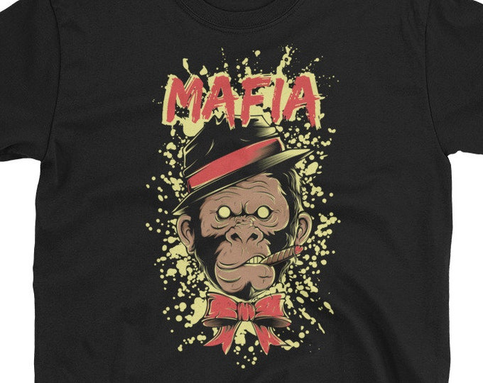 Mafia Grorilla Gangster T-Shirt
