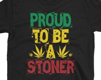 Proud To Be A Stoner Rasta T-Shirt