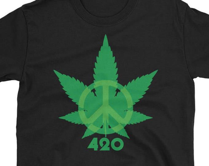 420 Peace Leaf T-Shirt