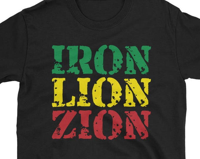 Iron Lion Zion Rasta T-Shirt