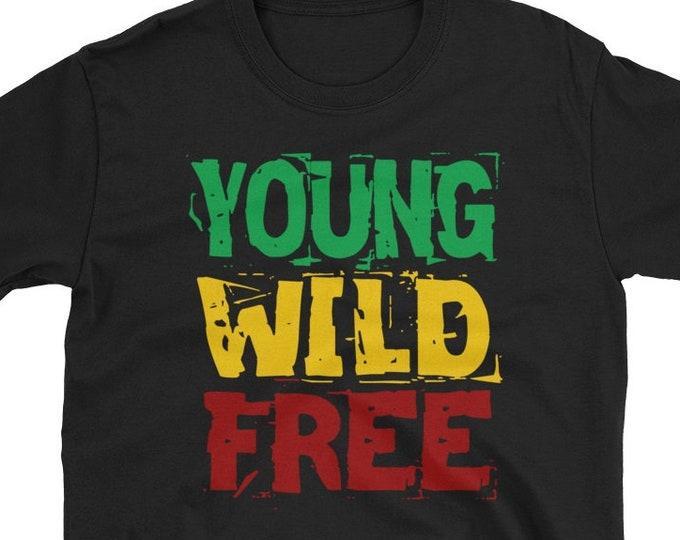 Young Wild Free - Rasta T-Shirt
