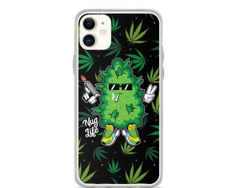 Nug Life - 420 Weed iPhone Case (Iphone 11, 11 pro, X, XR, XS)