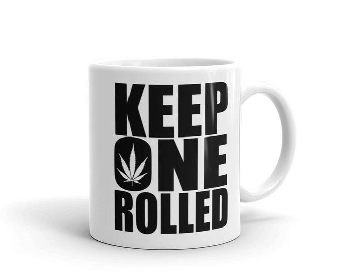 Keep One Rolled Mug
