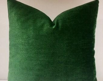 Zielona Poduszka Cover Zielone Poduszki Boho Poduszki Etsy