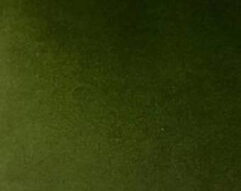 Moss Green Velvet Curtains Luxury Handmade Designer Drape Window Curtain Drapery Fabric Home Decor