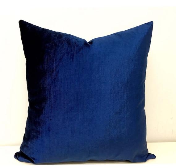 Navy velvet pillows | Etsy