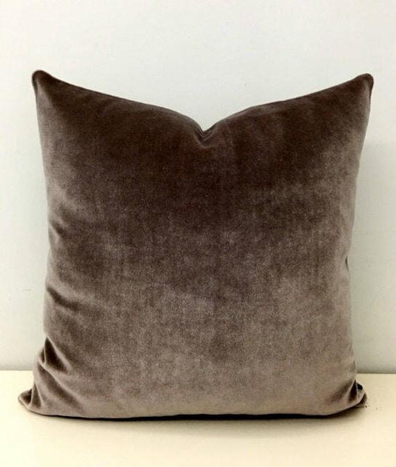 Velvet throw pillow | Etsy