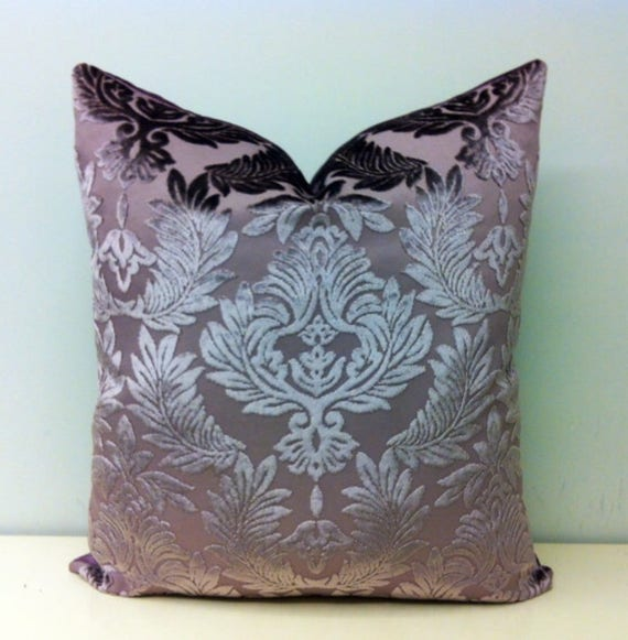 Luxury Lilac Velvet Pillow Cover Lilac