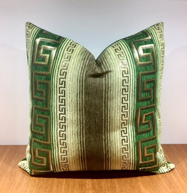 Luxury Green Throw Pillow, Green Pillows, Pillow Cover, Designer Pillow,  Decorative Pillow, Green Cushion Case, Green Couch Sofa Pillows
