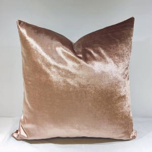 Pink velvet pillows | Etsy
