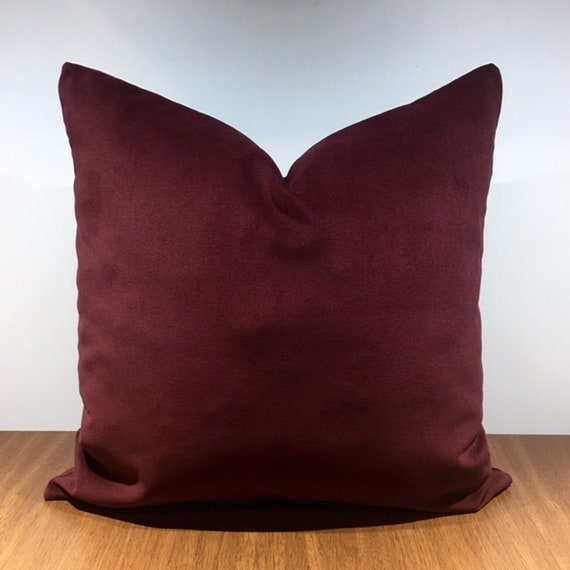 Burgundy Throw Pillows are a great